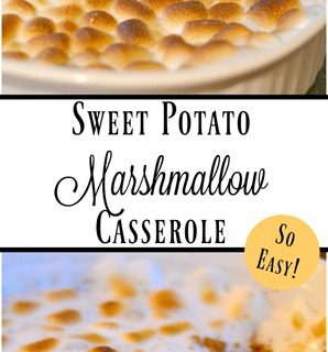 Sweet Potato and Marshmallow Casserole