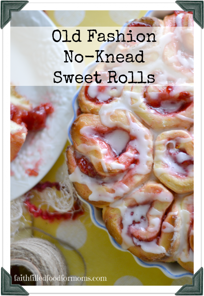 Old Fashion Cherry Sweet Rolls