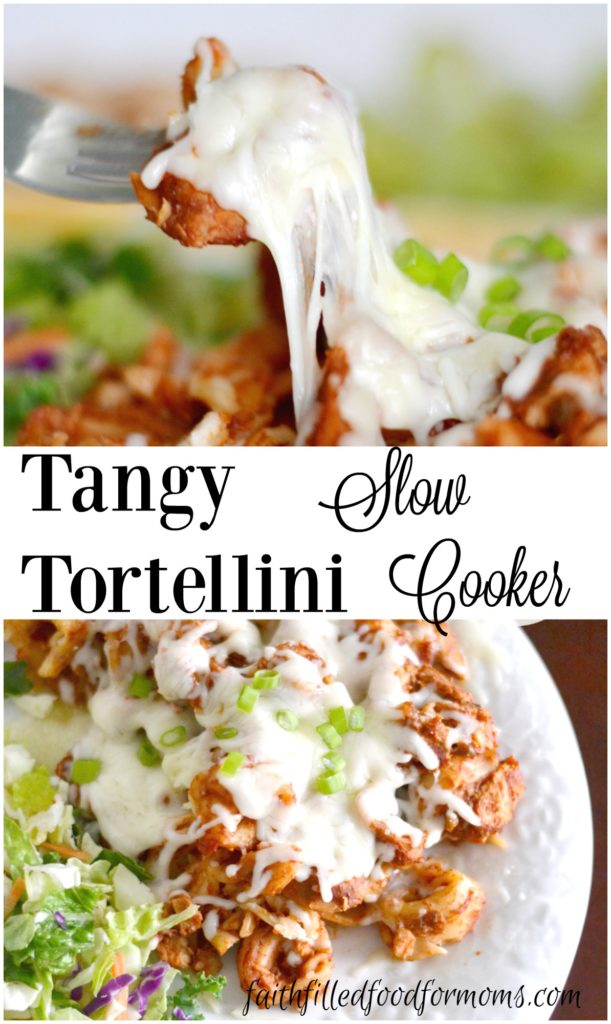 TANGY SLOW COOKER TORTELLINI PIN