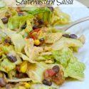 Taco Chicken Salad w/ Southwestern Salsa