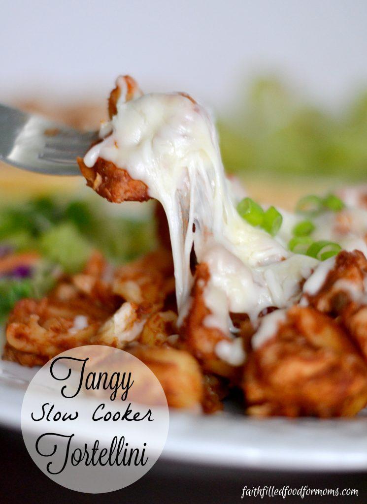 Tangy Slow Cooker Tortelini