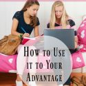 Teens need technology ~ How to Use it to Your Advantage