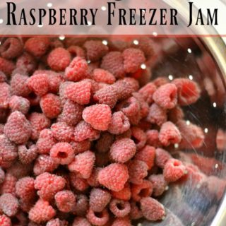The Best Raspberry Freezer Jam the Easy Way