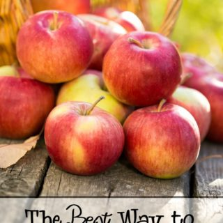 Best Way to Store Fresh Apples When You Have Abundance