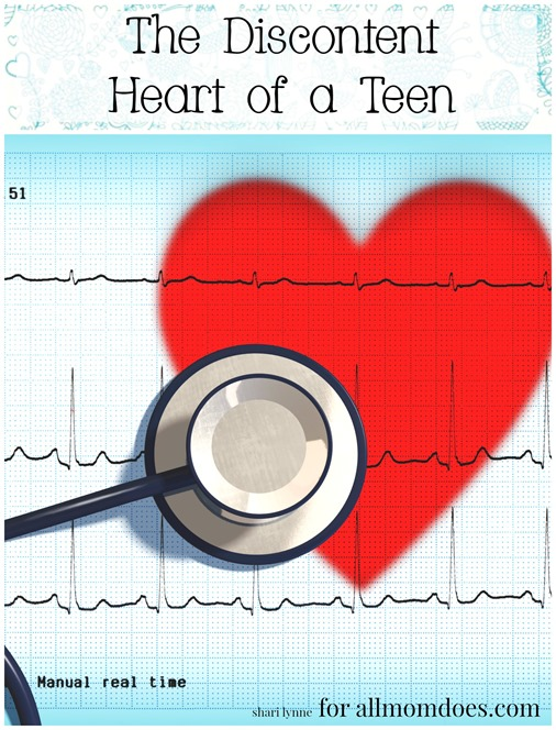 The Discontent Heart of a teen