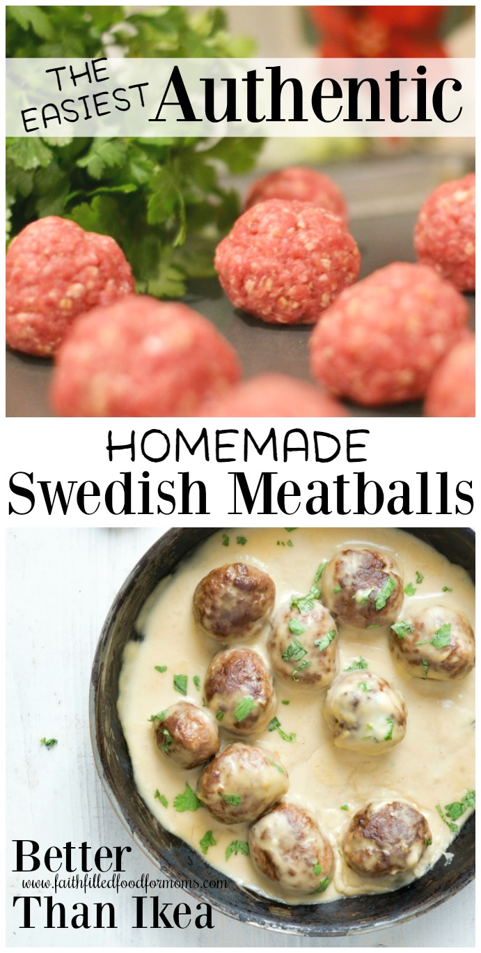 How to Make an Authentic Swedish Meatballs Sauce Recipe