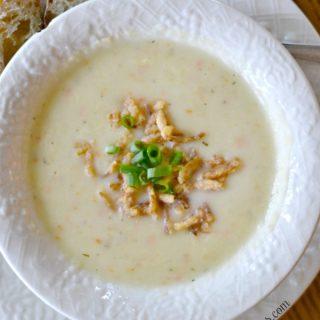 The Easiest Creamy Potato Soup Recipe