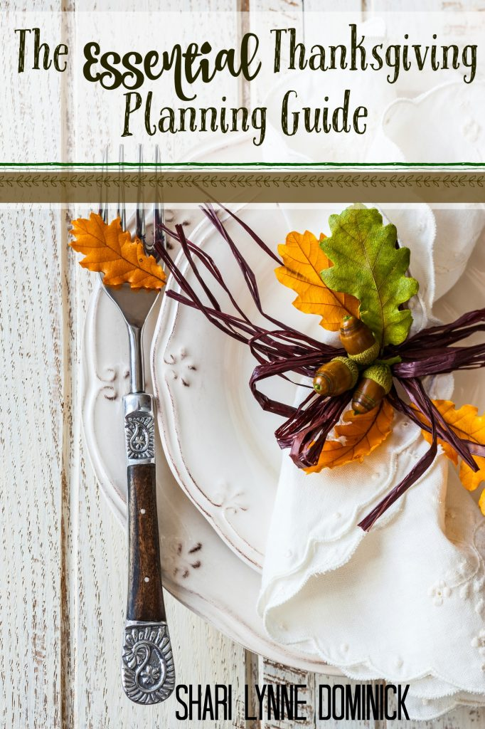 The Essential Thanksgiving Planning Guide