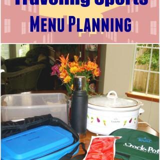 Traveling Sports Menu Plan