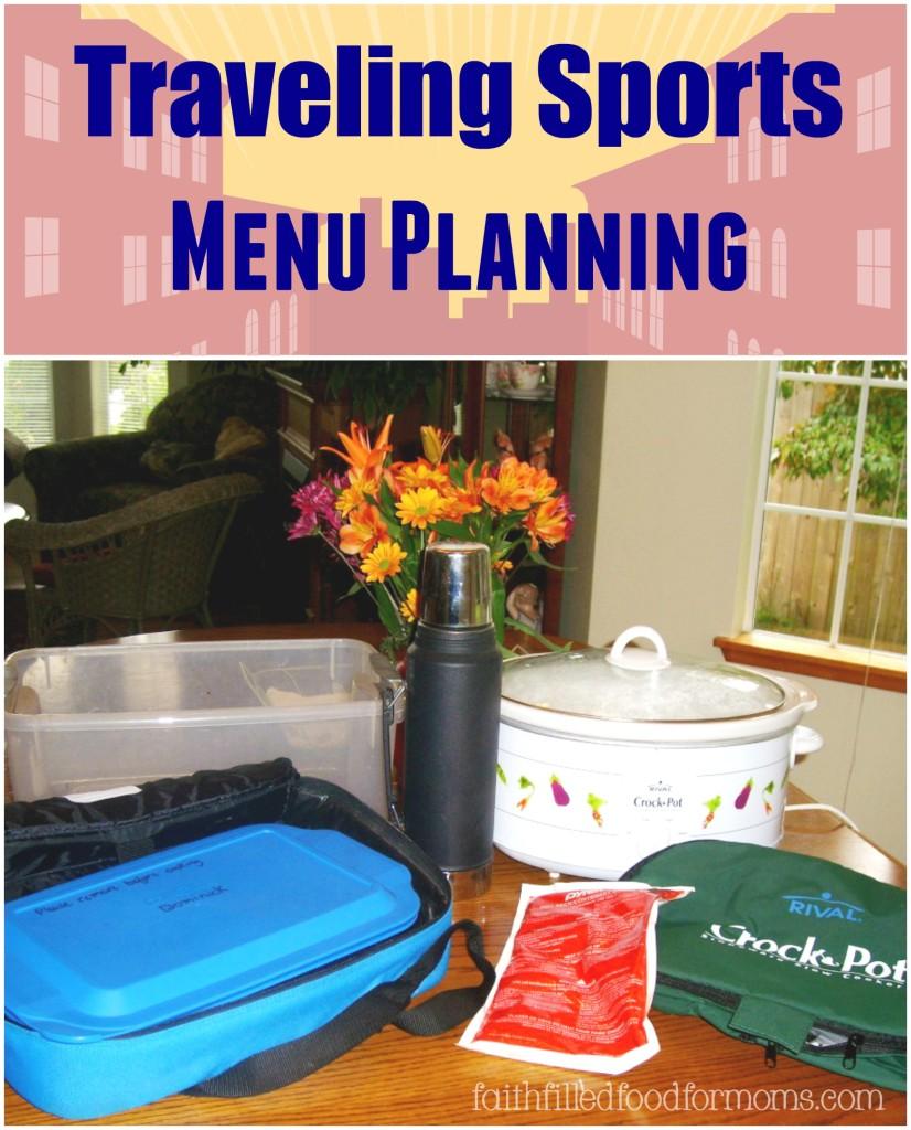 Traveling Sports Menu Planning