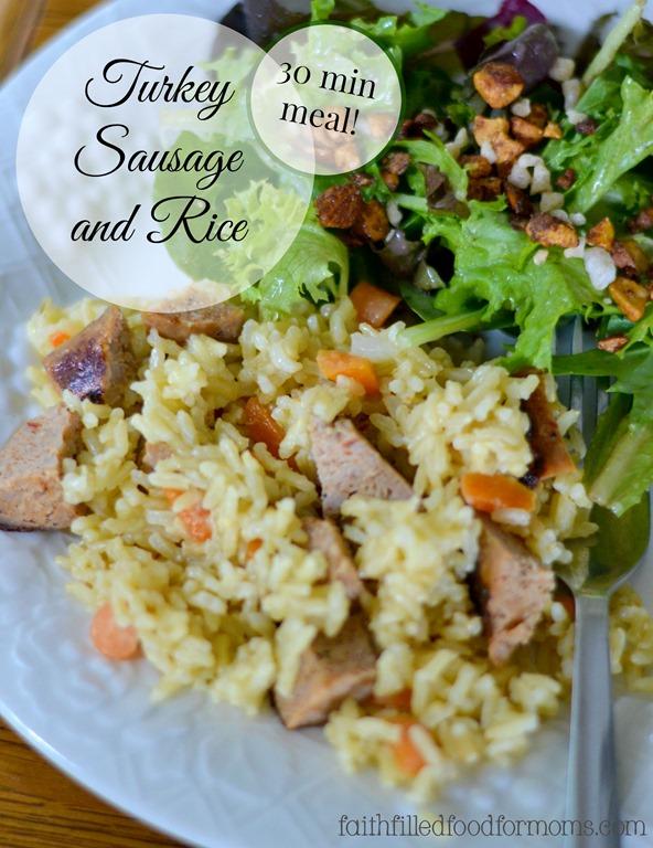Turkey-Sausage-and-Rice
