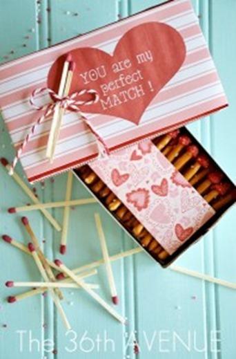 Valentine Match Box