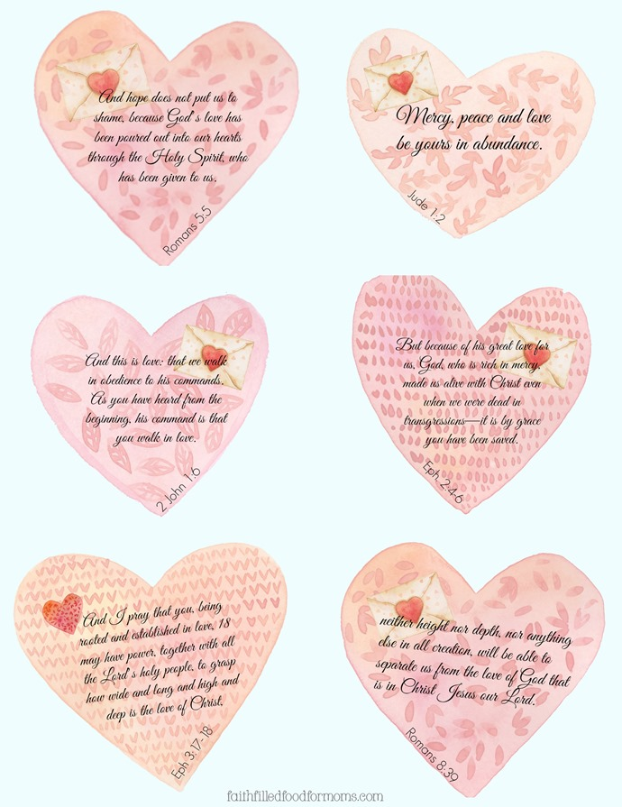 Valentine Scripture Blessings