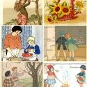 Beautiful Fun Vintage Fall Clip Art to Use for Your DIY Projects