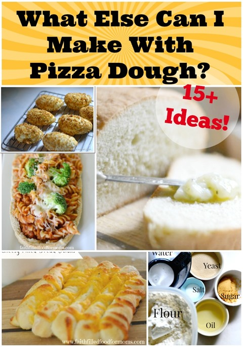 What else can I make with Pizza Dough