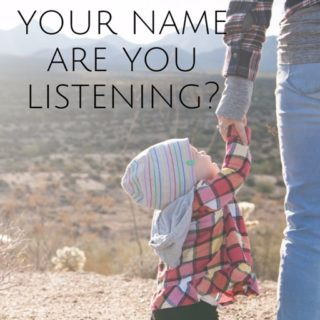 When God Whispers Your Name Are You Listening?