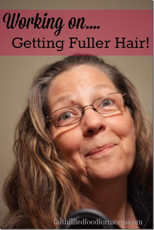 Working on Getting Fuller Hair #MoreisBeautiful #cbias