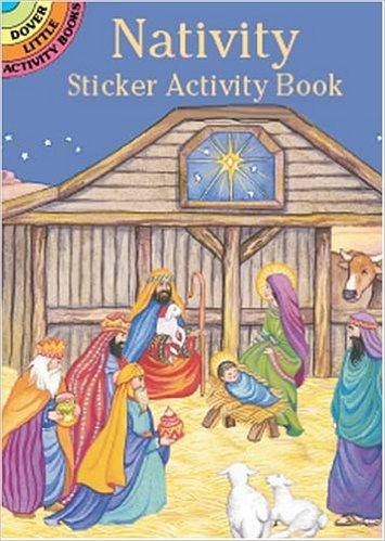 advent sticker book