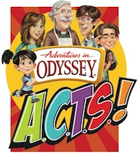 Adventures in Odyssey ACTS–90 Devotions for Kids Giveaway!