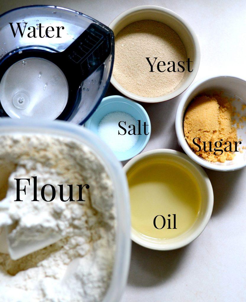 bread dough ingredients