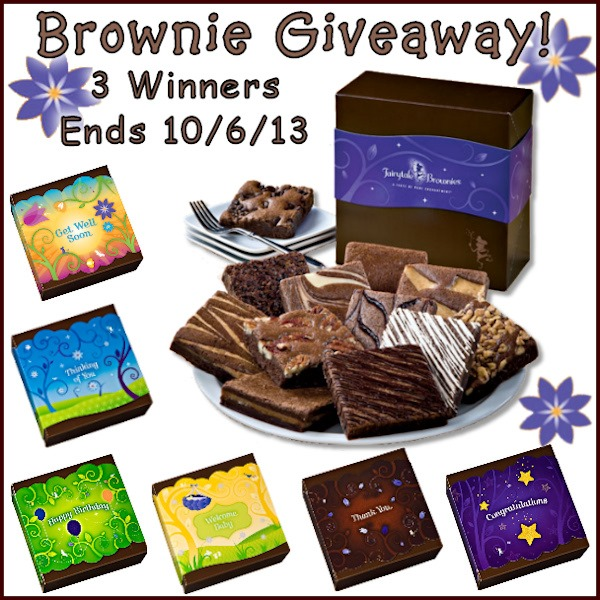 All About Gifts and Baskets Gourmet Brownie Box Giveaway! 3 Winners!