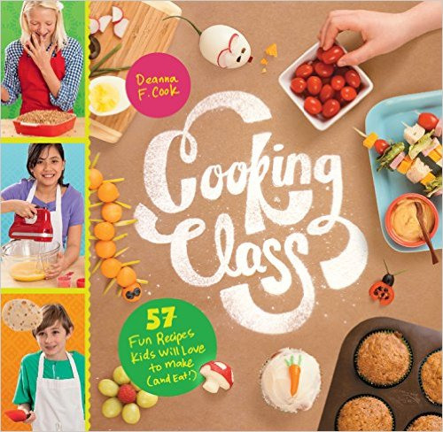 Cooking Class Cookbook for kids