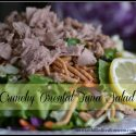 Crunchy Oriental Tuna Salad with Zesty Homemade Dressing