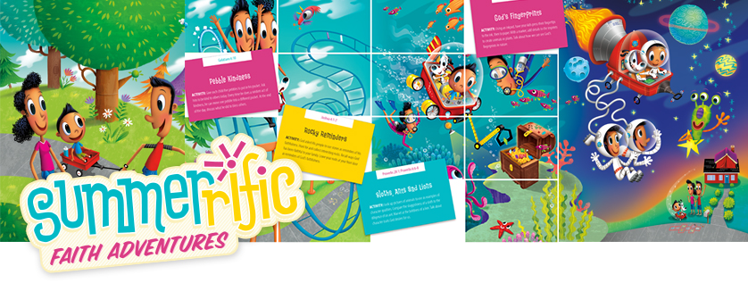 Focus on the Family has some super fun FREE Summer Faith Adventures you can download!