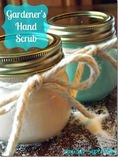 gardeners hand scrub