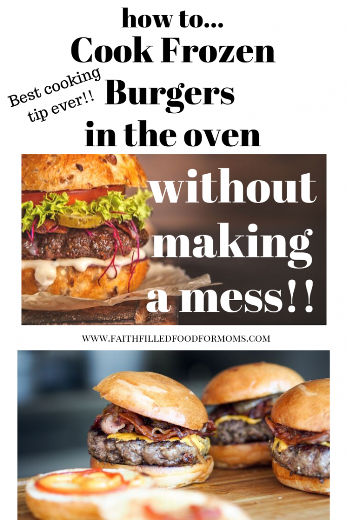 How to Cook Frozen Burgers in the Oven Without a Mess ...
