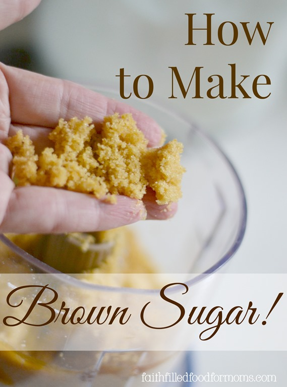 This is the process of how to make brown sugar at home. Then I'll ...