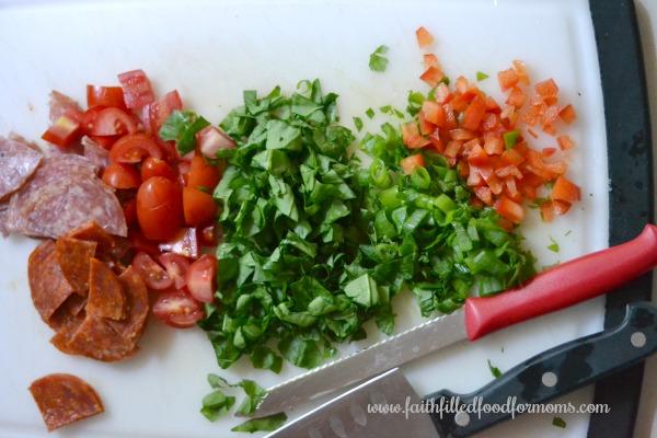 italian pasta salad ingredients