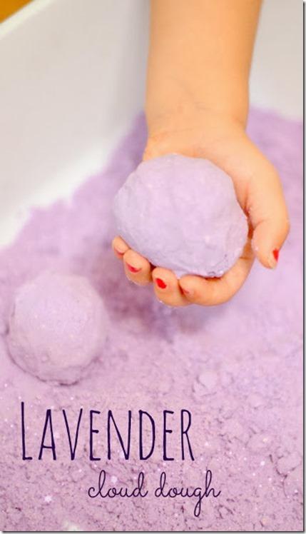lavender cloud dough recipe