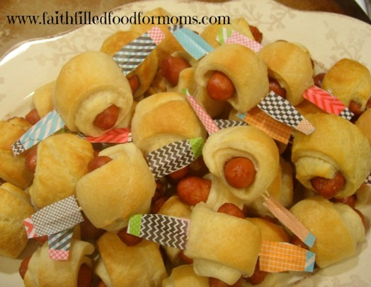 Little Smokies Airplanes-Appetizer Recipe
