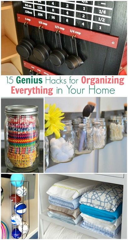 Organizing Hacks for your whole home