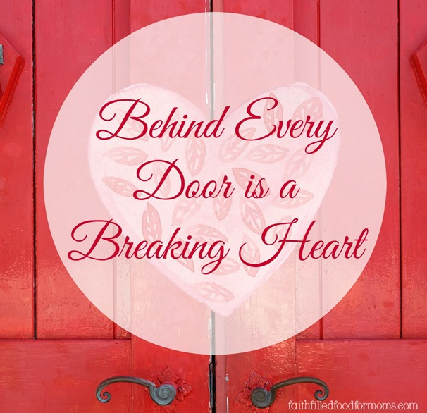 square Behind Every Door is a Breaking Heart