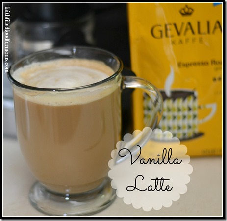 vanilla latte #cookincomfort #shop