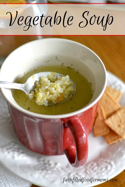 vegetable soup easy