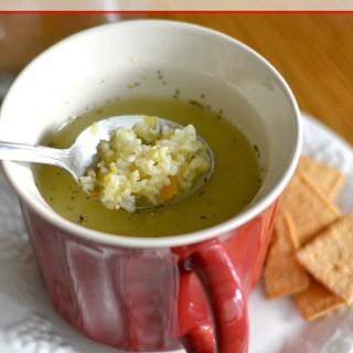 Homemade vegetable-soup-easy.